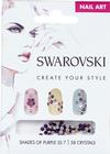 Swarovski Nail Art Loose Crystals - Purple SS7