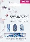 Swarovski Nail Art Loose Crystals - Blue SS9