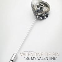 Valentine Tie Pin