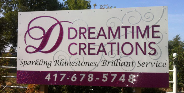Dreamtime Creations - Sparkling Rhinestones, Brilliant Service