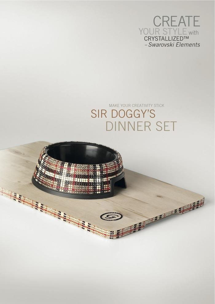 Dog Dinner Set by SWAROVSKI™