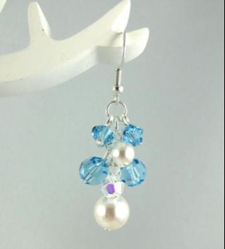 Frozen Inspired Earrings by Maryanne Walczak